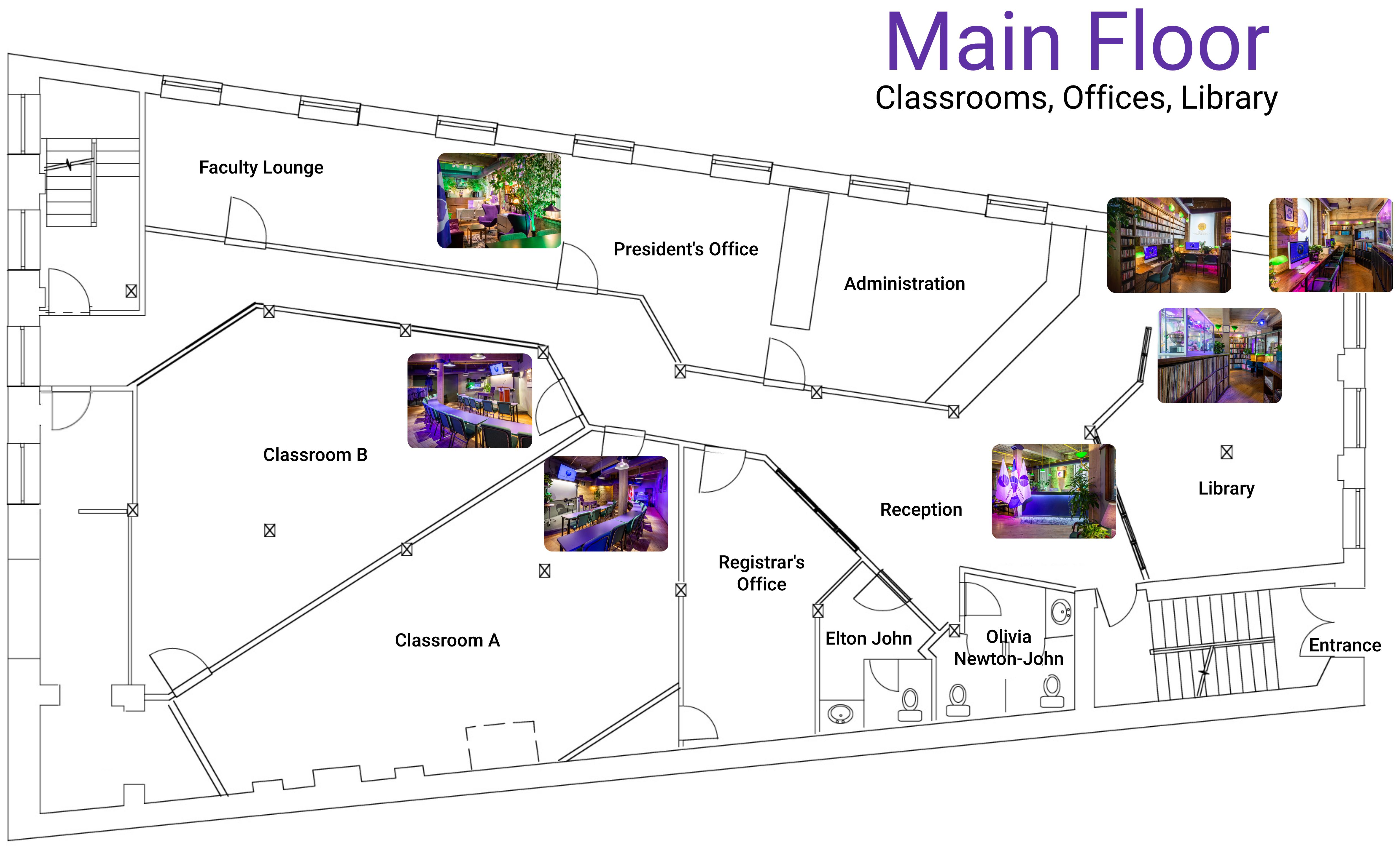 Main Floor Map